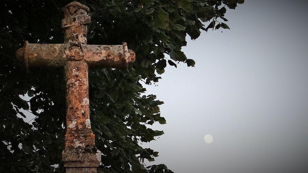 Croix monumentale d'Annoux, dite croix du Mariolet, début XIXe siècle