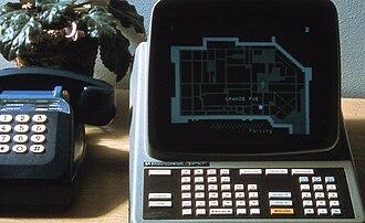 """Minitel - The Saint Malo """"Annuaire Electronique"""" in July 1980"""