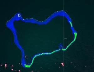 Ant Atoll - Ant Atoll from space. Courtesy NASA.