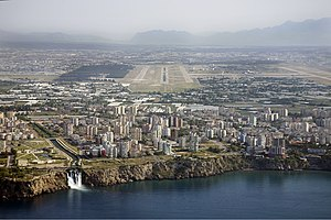 Antalya Airport - Image: Antalya Airport Karakas 2