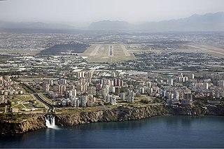 international airport serving Antalya, Turkey