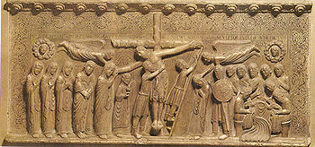 English: The Deposition from the cross, from t...
