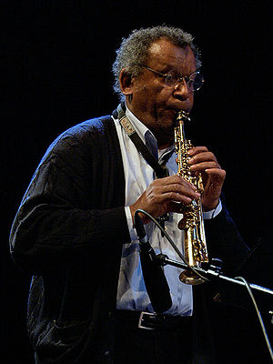2007 in jazz - Anthony Braxton  at Moers Festival 2007.