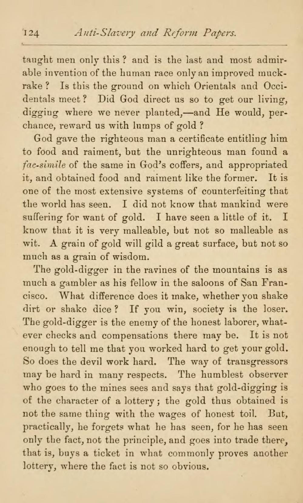 Antislavery essay