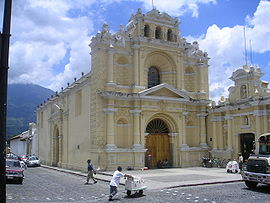 Kirche in Antigua