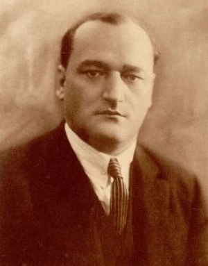 Anton Novačan - Anton Novačan in 1927