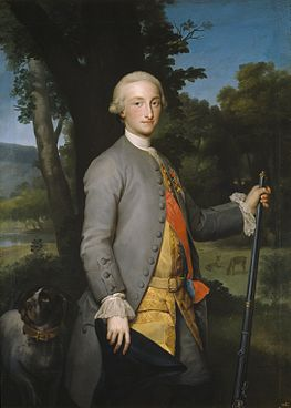 Anton Raphael Mengs, Prince of Asturias, Future Charles IV of Spain (са 1765) - 02.jpg