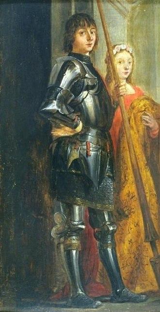 Gallery of Archduke Leopold Wilhelm in Brussels (Rothschild) - Image: Antonello da Messina Pala di Cassiano 34