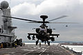 Apache Helicopter Operations on HMS Ark Royal MOD 45151997.jpg