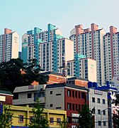 Apartment blocks in Eomgung-dong of Busan, Korea-01.jpg