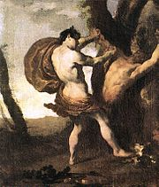 Apollo and Marsyas by Johann Liss