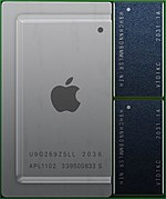 Processor designed by Apple (M1)