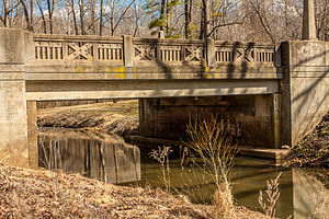 Appomattox River Bridge - Appomattox River Bridge, March 2013