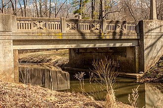 National Register of Historic Places listings in Appomattox County, Virginia - Image: Appomattox Bridge 3828