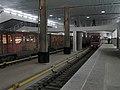 Aquarel (Watercolor) train at Myakinino station (Метропоезд Акварель на станции Мякинино) (4322782075).jpg