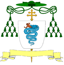 Coat of arms of Archbishop Visconti in Milan