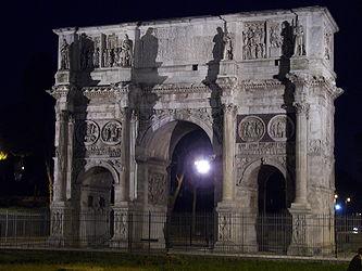 Arch of Constantine (Rome) night.jpg