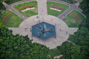 Hyde Park, Sydney - Archibald Fountain