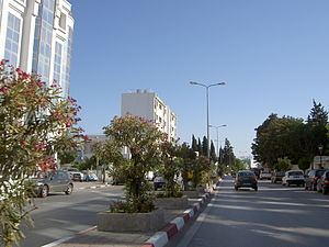 Aryanah - Street in the center of Ariana