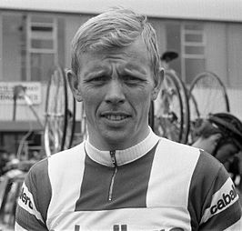 Arie den Hartog tijdens de Amstel Gold Race, 25 april 1970