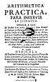 Arithmetica practica para instruir la jubentud 1718.jpg