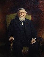 Portræt af  Léon Bonnat