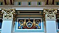Arms and capitals, Leeds Town Hall.jpg