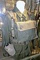 Army uniforms of Norway. Field uniform (feltuniform) M1951 Jacket Webbing Ammunition belt Straps Bag Water bottle canteen etc. Armed Forces Museum (Forsvarsmuseet) Oslo 2020-02-3088.jpg