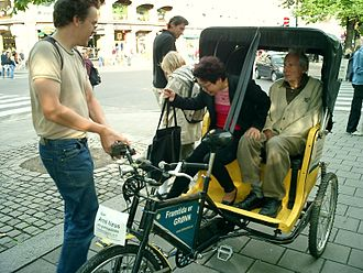 Arne Næss - Professor Arne Næss campaigning for the Norwegian Green party in 2003