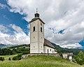 Arriach Pfarrkirche hll Philipp und Jakob mit Friedhof SW-Ansicht 05062017 9050.jpg