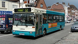 Plaxton Pointer - Image: Arriva Guildford & West Surrey 3091 P291 FPK
