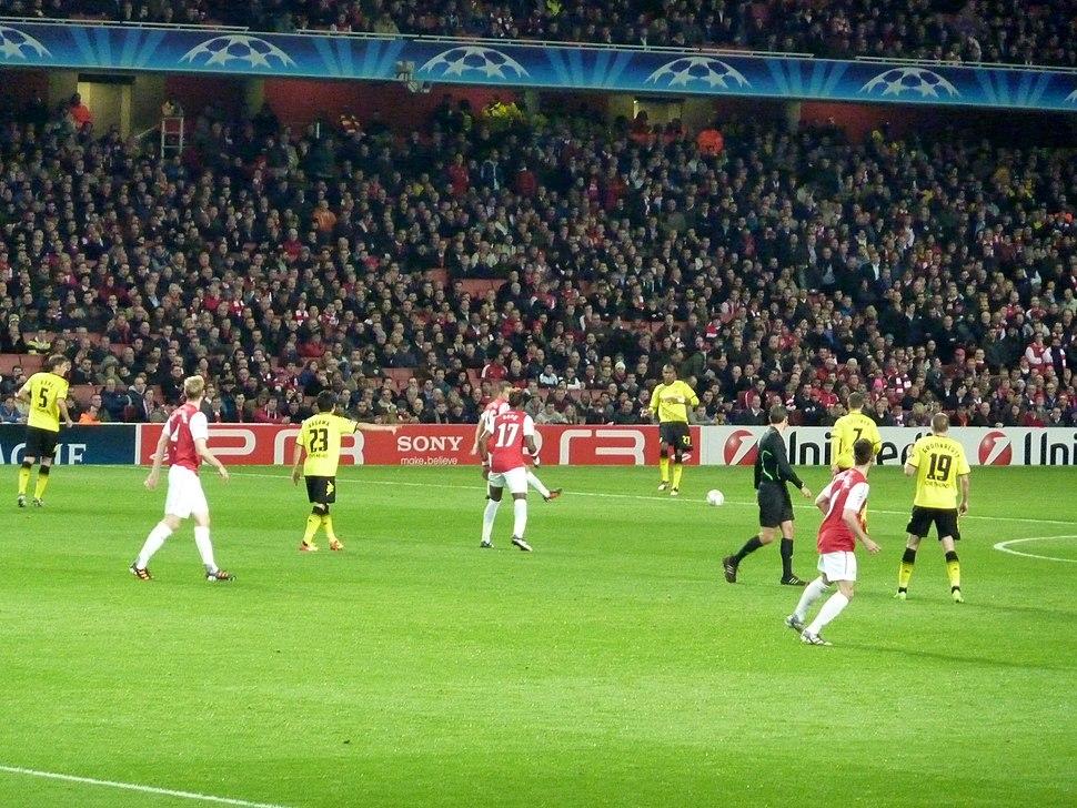 Arsenal vs Borussia Dortmund