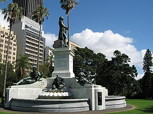 Arthur Phillip - Statue of Arthur Phillip in the Royal Botanic Gardens, Sydney