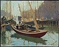 Arthur Clifton Goodwin - Boats at T Wharf - 1982.798 - Museum of Fine Arts.jpg