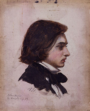 Arthur Hughes (artist) - An 1851 self-portrait of Arthur Hughes