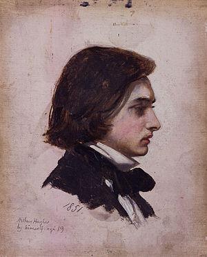 Arthur Hughes (artist) - An 1851 self-portrait of Arthur Hughes