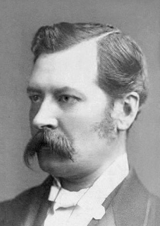 O'Shaughnessy - Arthur O'Shaughnessy, ca 1875.