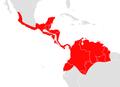 Artibeus phaeotis map.png