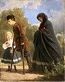 Artur Grottger - Po powstaniu. W drodze do kościoła 1864.jpg