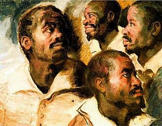 Museu Afro Brasil - Image: Artur Timóteo da Costa Estudo de Cabeças