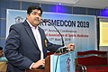 Arya Roy Delivering Lecture - Hand and Wrist Injury in Sports - SPORTSMEDCON 2019 - SSKM Hospital - Kolkata 2019-03-17 3571.JPG