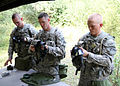 Assembling gas masks - US Army Europe Best Warrior Competition 140916-A-ZQ078-046.jpg