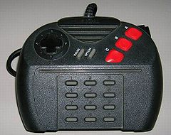 The Atari Jaguar's gamepad had 17 buttons, and the later Pro Pad had 22