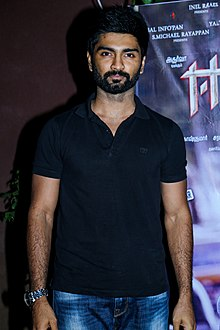 Atharvaa at Eetti Success Meet .jpg