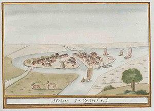 Sloten, Friesland - Image: Atlas Schoemaker FRIESLAND DEEL2 2099R Friesland, Sloten