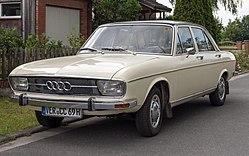 Audi 100 Viertürer (1968–1973)
