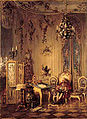 August Borckmann - The philosophers of Sanssouci - Voltaire in his study 1874.jpg