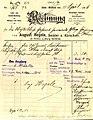 August Hegele, Fa. Ludwig Strähle, Säckler und Kürschner, Schwäbisch Gmünd, Rechnung von 1906.jpg