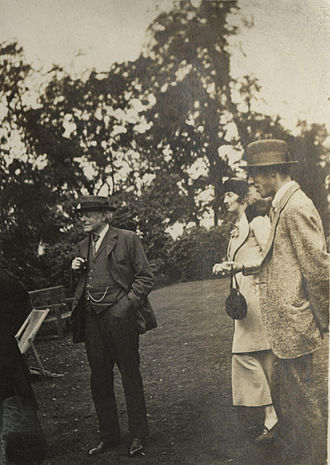 Augustine Birrell - Birrell with his son Anthony and Katharine Asquith