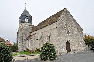 Aulnay-la-Rivière - The church in Aulnay-la-Rivière